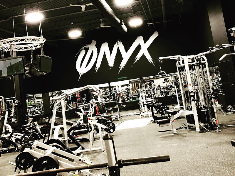 Onyx Fitness Club Front View