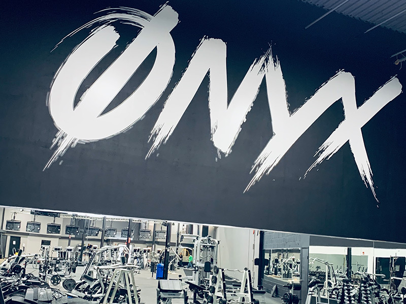 Onyx Fitness Club in house